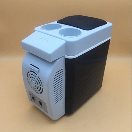 Preisvergleich Produktbild KDGWD Auto KühlschrankAuto-Kühlwagen Nach Hause Dual-Use Tragbare Elektronische Mini-Kühlschrank Und Wärmer,Black