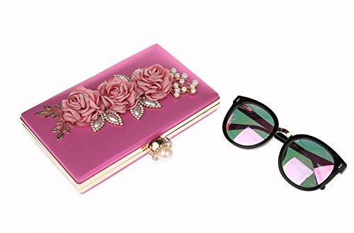 Stronzo, Damen Rucksackhandtasche Rose
