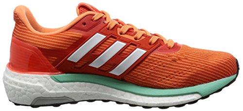 adidas Supernova Glide 9, Chaussures de Running Entrainement Femme Orange (Energy/Ftwr White/Easy Orange)