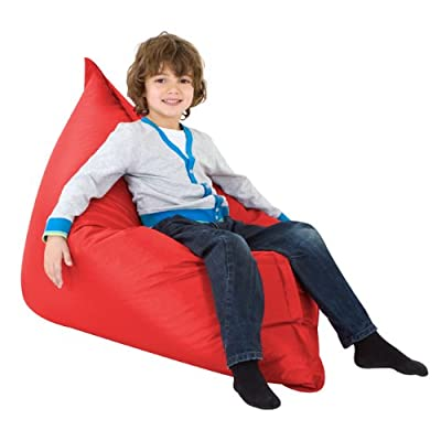 Kids BAZ BAG® Beanbag Chair RED - Indoor & Outdoor Kids Bean Bags
