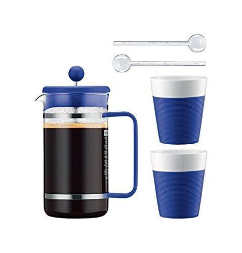 Bodum Bistro Kaffee-Set, Lila 914, AK1508-XY-Y15