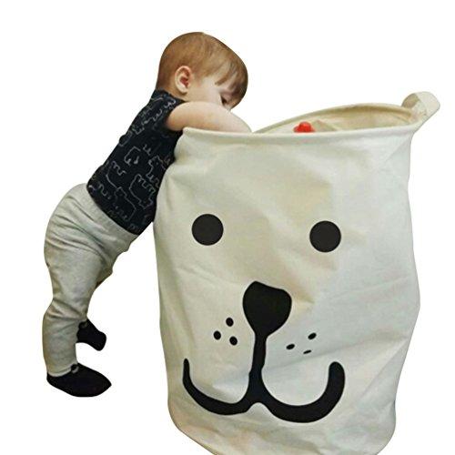 Cesto de ropa sucia para niños plegable