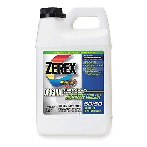 zerex-zxru4-original-green-antifreeze-coolant-05-gallon-by-zerex