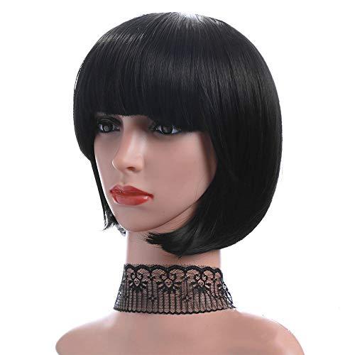 Ysy Hollywood Dame Perücke Flauschige Qi LIU Hai Kurzhaarreparatur Gesicht Bobo Kopf