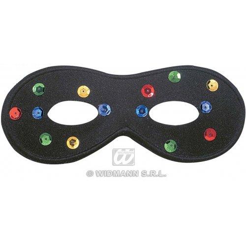 nmaske, Schwarz, traditionelle Acapulco-Masken, Augenmasken und Verkleidungen für Maskenade, Kostüm-Zubehör ()