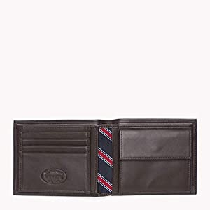 Tommy Hilfiger Herren Eton CC and Coin Pocket Geldbörsen, 14x10x2 cm