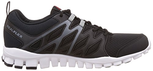 Reebok - Realflex Train 4.0, Scarpe fitness Uomo Nero (Black (Black/Flat Grey/White))