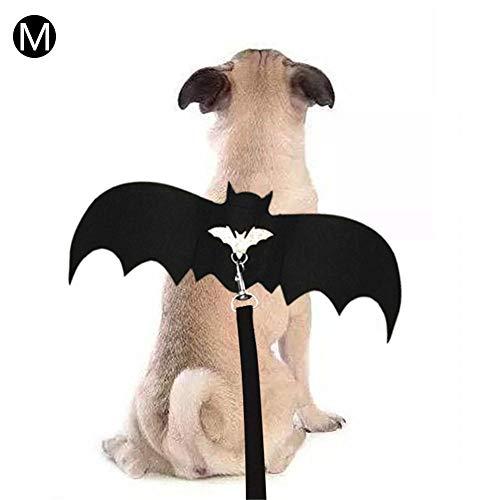 Halloween Haustier Hund Katze Kleidung, Halloween Haustier Hund Katze Fledermaus Flügel Cosplay Prop, Haustier Halloween Fledermaus Flügel Kostüm Halloween Vampir Fledermaus Kostüm Outfit Flügel