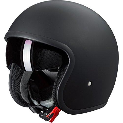 Nexo Casque de moto avec pare-soleil Noir mat Pour homme & femme