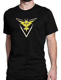 Pokémon Team Intuition (Gelb) / Zapdos / Pokémon GO / Team Instinct / Leader Spark / Größe XS-5XL / Ideales Geschenk / Premium T-Shirt