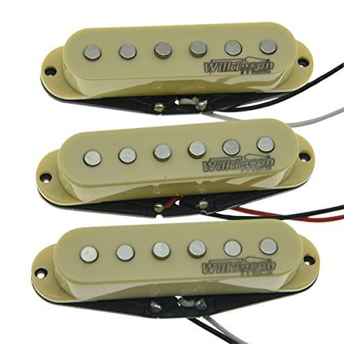 Wilkinson Lic Cream ST Strat Vintage Voice Single Coil Pickups Fits Stratocaster Single Voice Coil