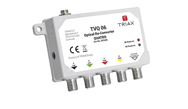 Triax Opto Quatro RÃ Ckumsetzer Tvq06 Elektronik