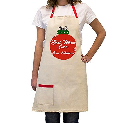 Maßgeschneiderte, verstellbar, Baumwolle Kochen Schürze mit Tasche–heat-resistant- Personalisierte BBQ/Kochen Küche Geschenke für Köche Best Mom-custom (Der Urlaub Halloween-geschichte)