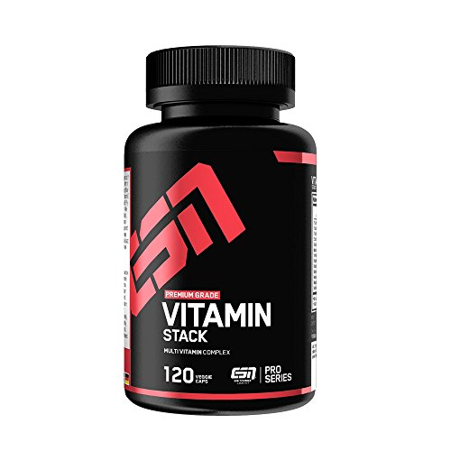 ESN Vitamin Stack, 120 Kaps. (Training Vitamine)