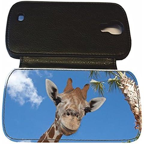 Diseño de estampado de jirafa de piel sintética SAMSUNG S4 negro con tapa del Luchador John Cena #8