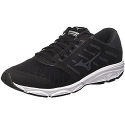 Mizuno Ezrun, Zapatillas de Running para Hombre, Negro (Black/Magnet/White 52), 42.5 EU