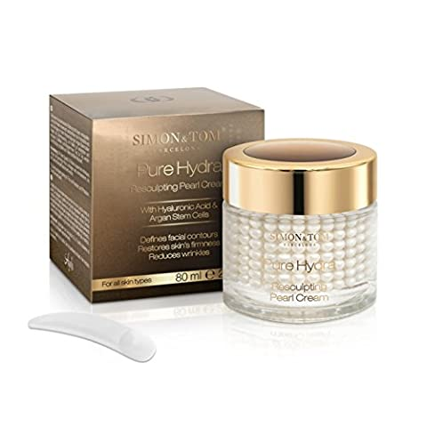 Creme Visage Femme - Simon & Tom Pure Hydra Resculpting Pearl