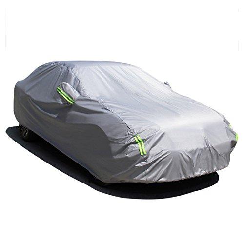 MATCC Copriauto Telo Copriauto Auto Impermeabile Pieghevole Anti UV Anti Pioggia Sole (470 * 180 * 150cm)