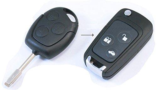 häuse, Taste, Auto Schlüssel, Flip, Schlüsselrohling, Fernbedienung, Transmitter Key, Autoschlüsselanhänger, Gehäuse ohne Elektronik, INION®. ()