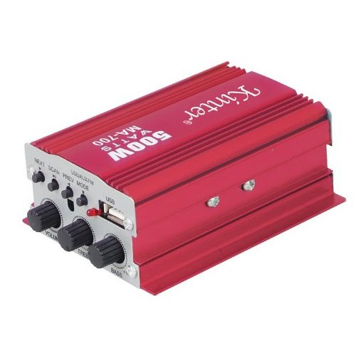 Verstärker für Auto Audio Stereo 500W ma-700CD DVD MP3USB 2CHANNEL 936618