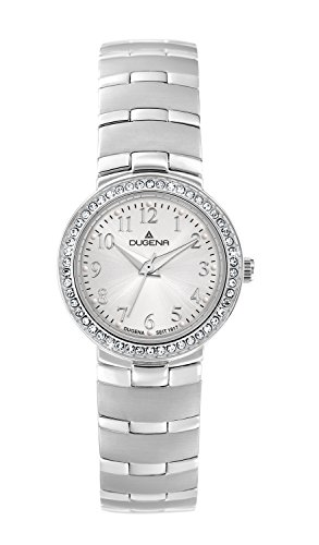 Dugena Women's Quartz Watch with Elegant Analogue Quartz Stainless Steel 4460628
