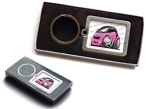 smart-fortwo-anteriore-ufficiale-koolart-premium-portachiavi-in-metallo-con-scatola-regalo-scegli-un