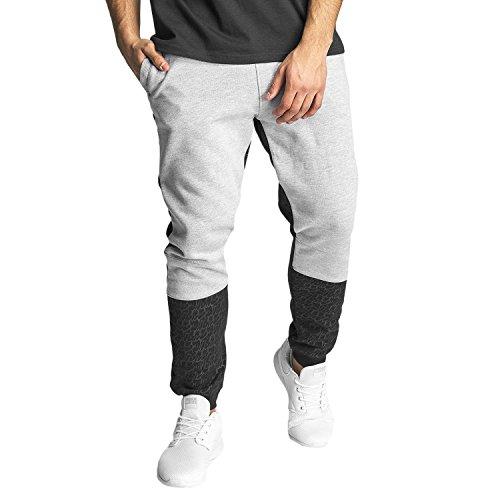DNGRS Corus Sweat Pants Herren Jogginghose Sporthose Trainingshose Fitnesshose Stoffhose Relaxhose LaufhoseJogger DefShop Grau Schwarz S M L XL XXL 3XL 4XL 5XL 6XL