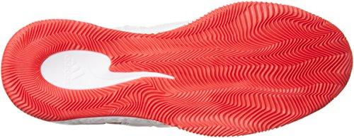 adidas Herren D Rose 7 Basketballschuhe Multicolore (Ftwwht/Rayred/Ftwwht)