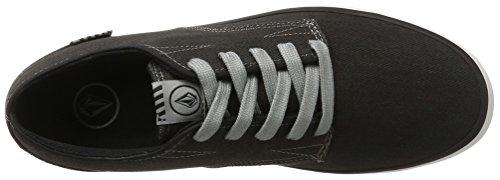 Volcom Govna Skate-Schuh, Chaussures de Skateboard Homme Schwarz (Vintage Black)
