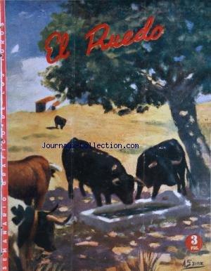 EL RUEDO [No 319] du 03/08/1950 - LOS TOREROS Y LA CARIDAD -MANOLO GONZALEZ / ANGEL PERALTA