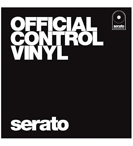 Serato SCV-PS-BLK-OJ Performance Control Vinyl Platte 12 Zoll, 2 Stuck,