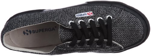 Chaussures Le Superga - 2750-herring1u BLACK-WHITE