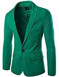 Veste blazer homme vert