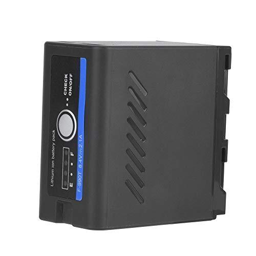 Mugast NP-F960 / 970 Externer Akku,Typ C-USB Netzteil zum Laden mit Temperaturschutz für Akkus und Mobiltelefone usw 6600 Usb