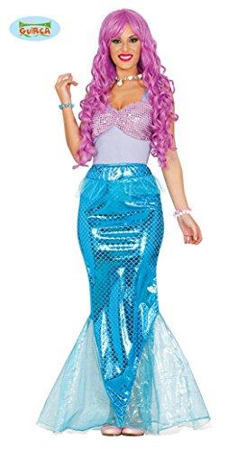 Sexy Meerjungfrau Kostüm für Damen Nixe Meerjungfraukostüm Kinderkostüm Gr. M-L, Größe:M (Exotische Meerjungfrau Kostüme)