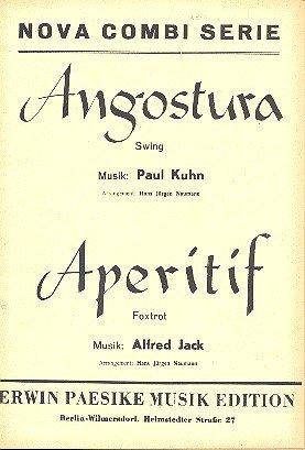 Angostura und Aperitif :