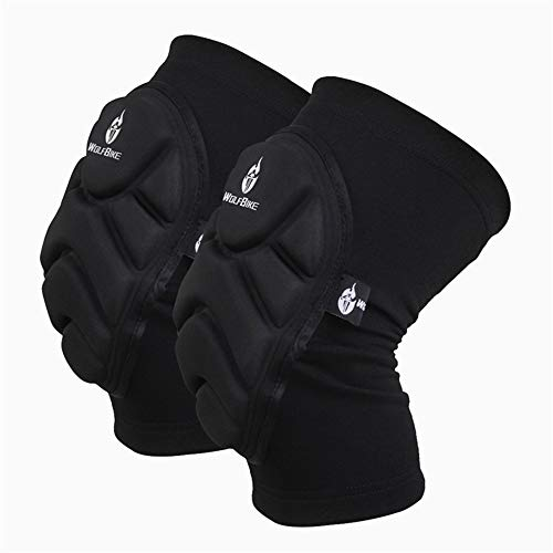 Fallen Knieschoner Eislaufen Ski Knieschoner Extremsport Schutzausrüstung,XL ()