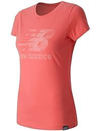 T- Shirt New Balance Logo Coral