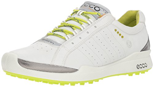 Ecco Woman Biom Golf Hybrid white/lime punch Gr. 41 - Ecco Biom Hybrid Golf