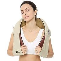 Preisvergleich für thinp Massage Gerät Shiatsu Cervical Massager des Nacken Hals Schulter Gerät Gürtel-Massage Infrarot mit Adapter...