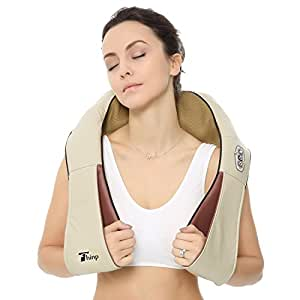 Thinp Massaggiatore Massaggi Rilassamento Rallentamento Shiatsu del collo Piede Impastare con calore per la casa e l'ufficio 3 Modi da selezionare per Calmare muscoli intensi.