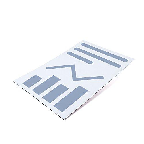 10er Set - Bedruckbare Magnetfolie DIN A4 zum Beschriften und Zuschneiden, Oberfläche:Matt