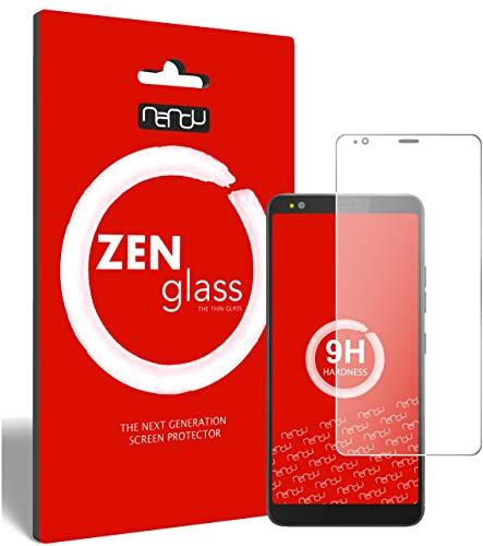 ZenGlass (2 Stück Flexible Glas-Folie für Gigaset GS370 Plus Panzerfolie I Bildschirm-Schutzfolie 9H
