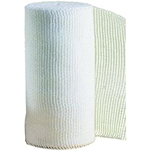 SCANSPORT cm 5 x 10 m Esparadrapo deportivo tape para vendajes funcionales con algodón de máxima calidad, corte sin deshilacharse sin tijeras TAP14