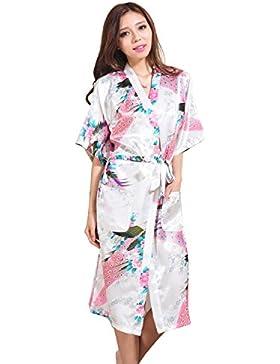 GL&G Il cardigan lungo del paragrafo della signora dell'abito di modo Sezione sottile L'accappatoio giapponese...