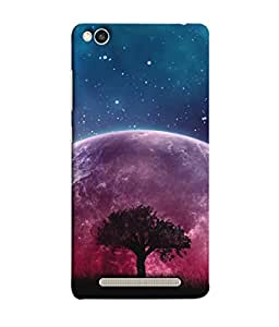 Snapdilla Designer Back Case Cover for Xiaomi Redmi 3s (Stars Cloud Night Rainbow Grass Pink Fog Mist)