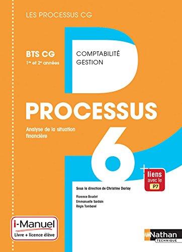Processus 6 - BTS CG 1re et 2e années par Florence Boudet