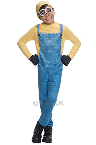 e Me Minions kostüm Größe S (3–4Jahre) (Minion Bob Kinder Kostüme)