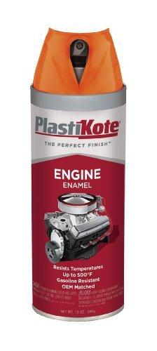 PlastiKote 226 Chrysler Orange Engine Enamel, 12 oz. by PlastiKote