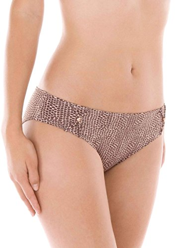 Calida Cala Rossa Bikini-Hose mit normaler Bundhöhe Damen Fudge Brown